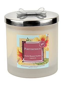 Portmeirion Hibiscus 2 Wick Candle