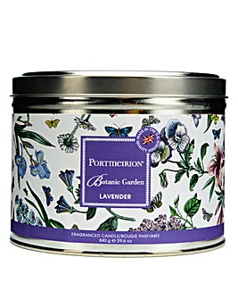 Portmeirion Lavender 3 Wick Candle