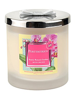 Portmeirion Moth Orchid 2 Wick Candle