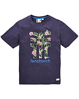 Fenchurch Icon Floral T-Shirt Reg
