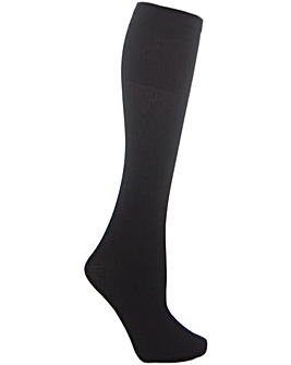 Warm Ribbed Knee Highs