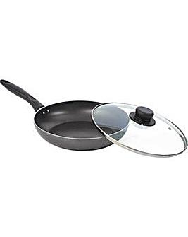 26cm Non-Stick Saute Pan with Lid