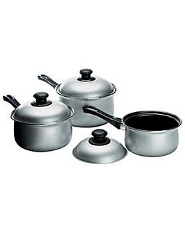 3 Piece Non-Stick Carbon Steel Pan Set