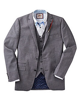 Joe Browns Grey Textured Suit JKT Short