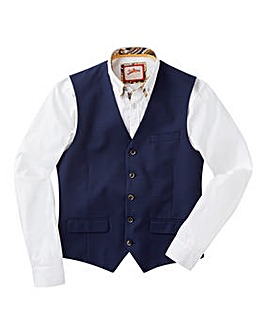Joe Browns Mini Check Suit Waistcoat Reg