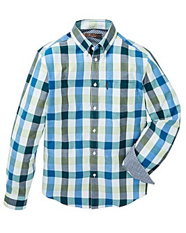 Ben Sherman Buffalo Check Shirt Long