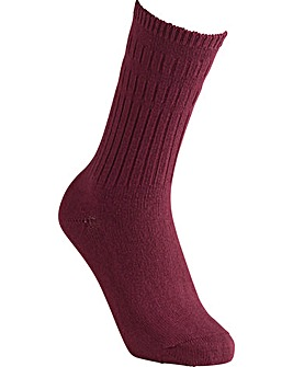Cotton Mid-Weight Seam-Free Socks