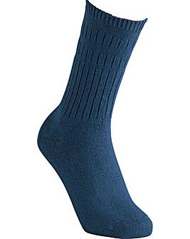 Extra Roomy Cotton Seam-Free Socks