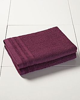 Everyday Value Towel Range - Aubergine