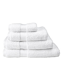 Pima Luxury Towel Range - Snowflake