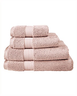 Pima Luxury Towel Range - Rose Blush