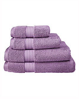 Pima Luxury Towel Range - Mulberry