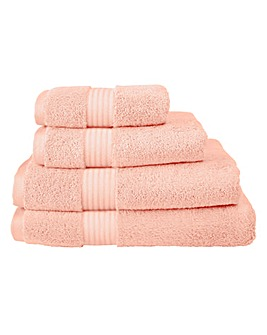 Pima Luxury Towel Range - Seashell Pink