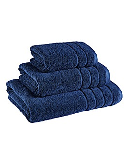 Hydra Cotton Towel Range - Midnight