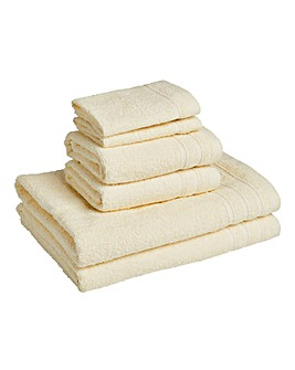 6 Piece Everyday Towel Bale - Cream