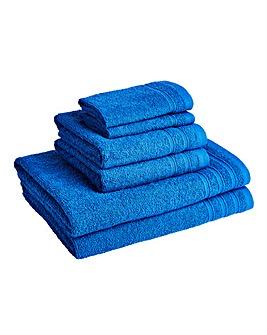 6 Piece Towel Bale - Mediterranean Blue