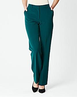 Straight Leg Trousers Length Long