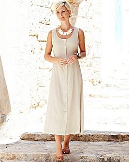 Plain Crinkle Dress 48in