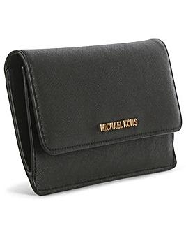 Michael Kors Saffiano Slim Wallet