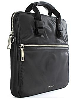 Marc Jacobs Black Nylon Computer Case