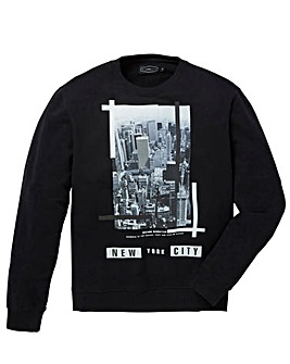 Label J NYC Crew Sweat Regular