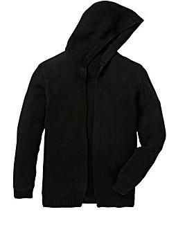 Label J Knitted Longline Open Cardigan