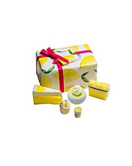 Bath Bomb Lemon Aid