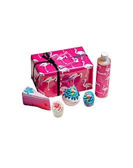 Bath Bomb Let�s Flamingle Flamingo