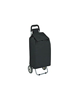 Eclipse Shopping Trolley - Plain Black.