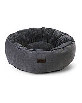 King Pets Grey Snuggle Donut.