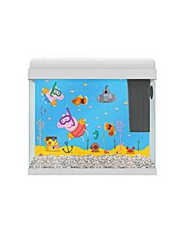 Tetra Peppa Pig 18L Aquarium.