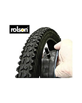 Rolson 26in MTB Tyre And Tube.