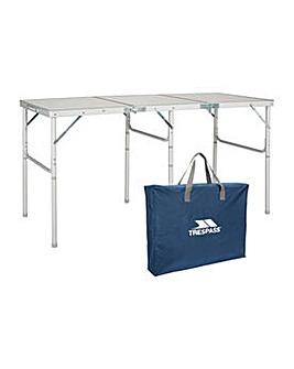 Trespass Triple Folding Table.