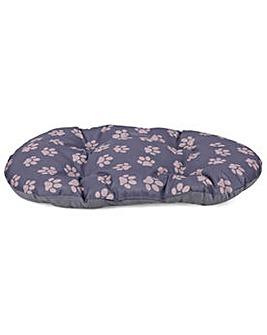 King Pets Large Oval Cushion - Grey