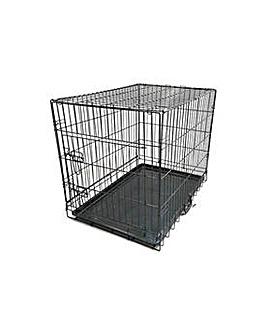 King Pets Single Door Pet Cage - Medium.