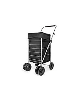 6 Wheel deluxe Shopping Trolley.