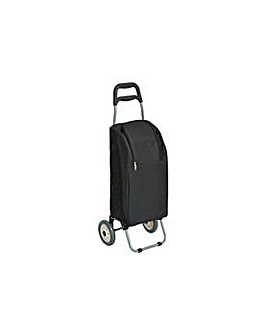 Insulated Shopping Trolley - Black.