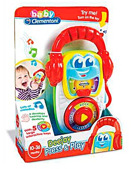 Baby Clementoni Electronic MP3 Player