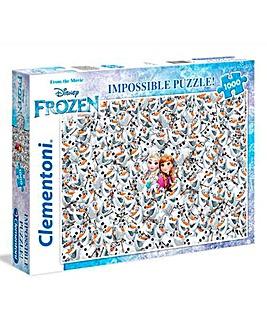 Disney 1000pc Impossible Puzzle - Frozen
