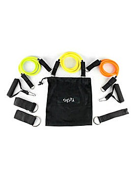 Opti Resistance Bands with Case -  5 Set