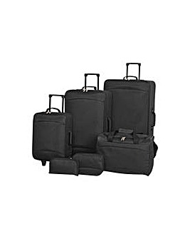 Simple Value 6 piece Luggage Set.