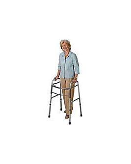 Folding Walking Frame  Height Adjustable