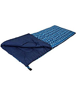 Aztec 300GSM Sleeping Bag - Blue