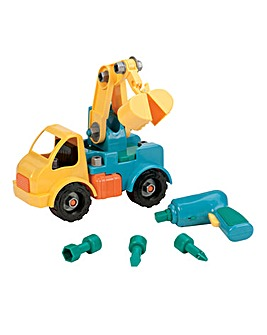 Battat Take-Apart Crane Truck