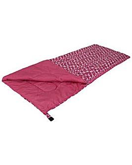 ProAction Aztec 300GSM Sleeping Bag Pink