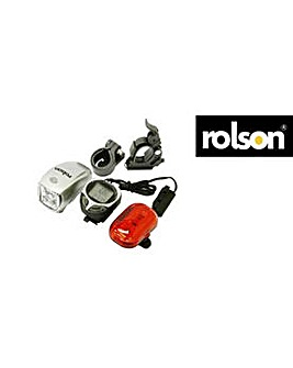 Rolson 3 Piece Cycle Light Set