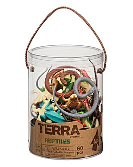 Terra Reptiles - 60pcs