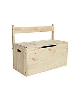 Kids Scandinavia Toy Box - Pine.