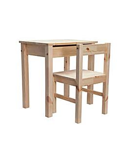 Kids Scandinavia Desk and Chair - Pine.