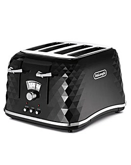Delonghi Brillante 4-Slice Toaster